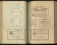 Oscar H. Harpel. Harpel's Typograph or Book of Specimens: Containing … Examples of Letterpress Job Printing Arranged for the Assistance of Master Printers, Amateurs, Apprentices, and Others. Cincinnati: Printed and published by the author, 1870.