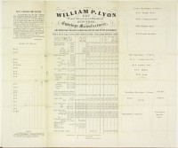 William P. Lyon … Envelope Manufacturer, and Wholesale Dealer in Writing Papers and Other Stationery. New York: William P. Lyon, after 1862. Gift of David Doret in memory of Rose and Leon Doret.