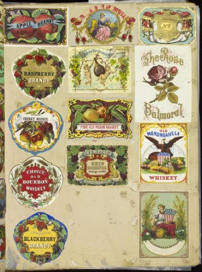 Specimens album. Philadelphia, ca. 1852-ca. 1876. Gift of Margaret Robinson.