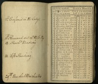 Poor Will's Pocket Almanack, for the year 1777. Philadelphia: Joseph Crukshank, 1776.