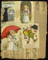 Clippings Scrapbook, pg. 4.
