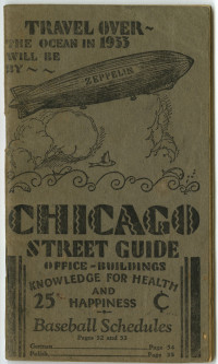 Dr. J. R. Mabee. Chicago Street Guide. Chicago, 1930.