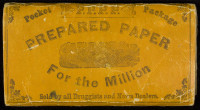Pocket Package Prepared Paper for the Million. New York: Diamond Mills Paper Company, 1872.