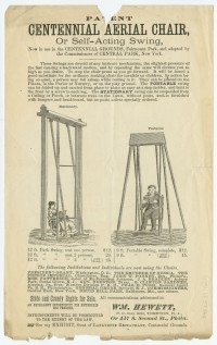 Ephemera from the Centennial Exhibition. Philadelphia, 1876.
