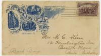 Envelopes, ca. 1855-1876.