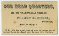 Mixed-media circulars, handbills, and display cards.