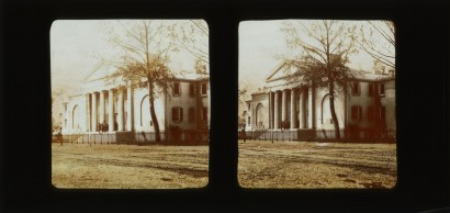 Frederick Langenheim. Deaf and Dumb Asylum. Philadelphia, 1856. Glass stereograph.
