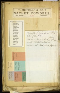 Theodore Metcalfe Company scrapbook. Boston, 1873-1891.
