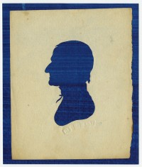 Unidentified silhouettes, several cut at Peale's Museum, ca. 1803-ca. 1810.
